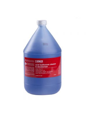 SCPA Solutions Acid Bathroom Cleaner and Deodorizer - Floral Scent (1 Gallon)