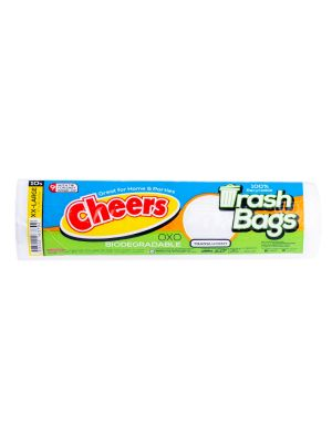 Cheers Extra Extra Large Size Translucent Trash Bag - 10 Bags (Pack of 2)