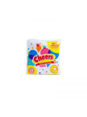 Cheers Pull Napkins 200 Sheets (Pack of 5)