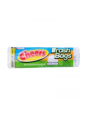 Cheers Large Size Translucent Trash Bag - 10 Bags (Pack of 3)