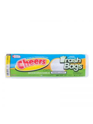 Cheers Extra Large Size Translucent Trash Bag - 10 Bags (Pack of 3)
