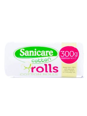 Sanicare Cotton Rolls 300g (Pack of 2)