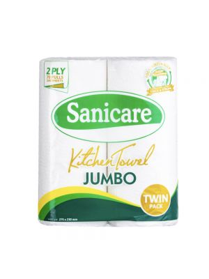 Sanicare Jumbo Kitchen Towel Twin