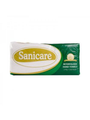 Sanicare Premium 2 Ply Interfolded Paper Towel (Pack of 3)